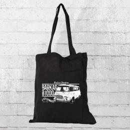 Bordstein Streetwear 1000 Lieferwagen Bus Stoff Beutel schwarz