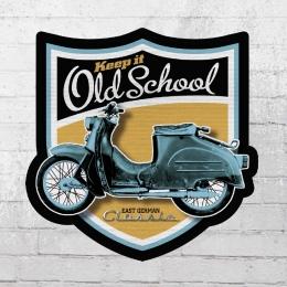 Bordstein Streetwear Aufkleber KR 50 Old School Wappen