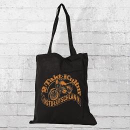 Bordstein Streetwear ETZ250 Stoffbeutel 2 Takt Kultur schwarz