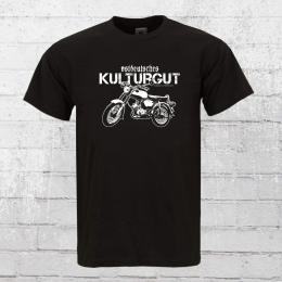 Bordstein Streetwear T-Shirt Ostdeutsches Kulturgut schwarz