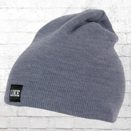 879eaf4a439 C Like Zebra Winter Hat Like Beanie heather indigo
