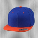 Yupoong by Flexfit Kappe Snapback 2-Tone Cap royal orange