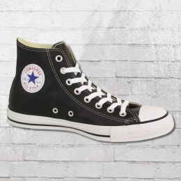Converse Chucks Leder Schuhe Unisex 132170 C schwarz