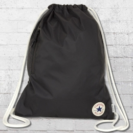 Converse Gym Bag Cinch Turnbeutel schwarz