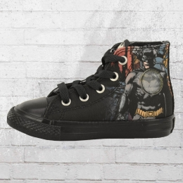Converse Kinder Batman DC Comic Chucks schwarz