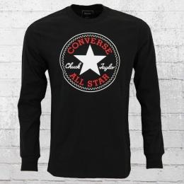 Converse Männer Longsleeve T-Shirt Chuck Patch schwarz