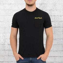 Converse T-Shirt Männer Chuck Script Pocket schwarz