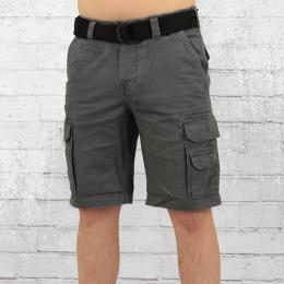 Cordon Cargo Shorts Herren Bud grau