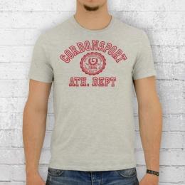 Cordon Herren T-Shirt Ole hellgrau meliert