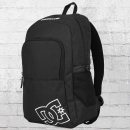 DC Shoes Detention 2 Backpack Laptop-Fach Rucksack schwarz