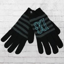 DC Shoes Frauen Finger Handschuhe Hide Gloves schwarz