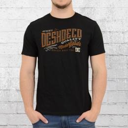 DC Shoes Herren Special T-Shirt Corporation schwarz