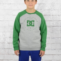 DC Shoes Kinder Raglan Sweater Rebuilt grau grün