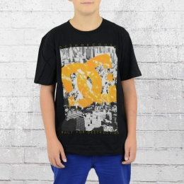 DC Shoes Kinder T-Shirt Bourough schwarz