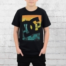 DC Shoes Kinder T-Shirt Curbate schwarz