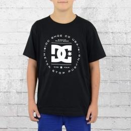 DC Shoes Kinder T-Shirt Rebuilt schwarz weiss