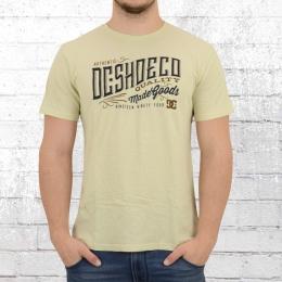 DC Shoes Männer Special Premium T-Shirt Corporation elfenbein