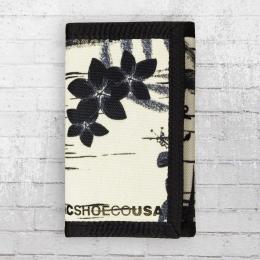 DC Shoes Portmonnaie Trifold Ripstop Wallet weiss schwarz