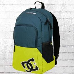DC Shoes Rucksack Detention 2 Backpack Laptop Fach petrol limette