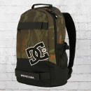 DC Shoes Rucksack Grind Backpack mit Board-Halter oliv camo