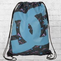 DC Shoes Simpski Gym Bag Turnbeutel schwarz blau