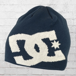 DC Shoes Strick Mütze Big Star Beanie navy weiss
