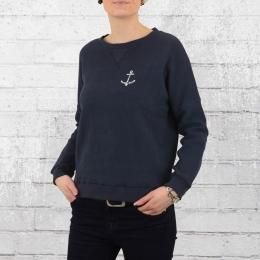 Derbe Damen Sweatshirt Thelma dunkelblau