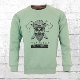 Derbe Hamburg Männer Pullover TOTDY grün