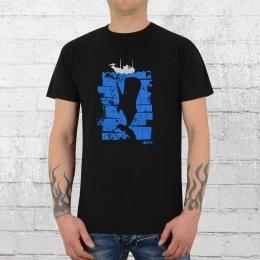 Derbe Hamburg T-Shirt Whaler schwarz