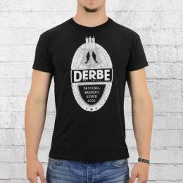 Derbe Hamburg Soft T-Shirt Herren Brewery schwarz