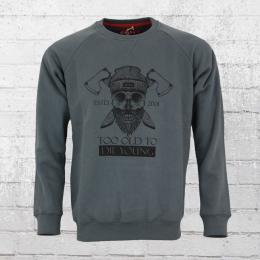 Derbe Hamburg Sweatshirt TOTDY anthrazit