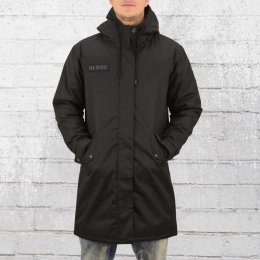 Derbe Hamburg Winter Parka Black Joke Herren Mantel schwarz