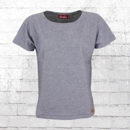Derbe Hamburg Frauen T-Shirt Basic Tee blau