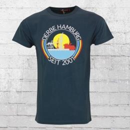 Derbe Herren T-Shirt Hafenring Boys blau