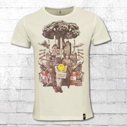 Dirty Velvet Herren T-Shirt Comfortably Numb weiss
