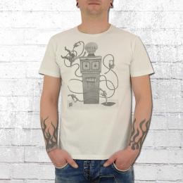 Dirty Velvet T-Shirt Hell On Earth weiss