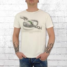 Dirty Velvet Männer T-Shirt Money Grabber weiss