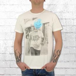 Dirty Velvet Männer T-Shirt Uplifted weiss
