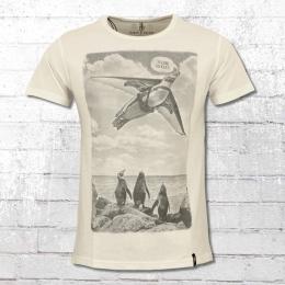 Dirty Velvet Special T-Shirt The Aviator weiss