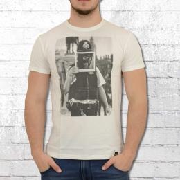 Dirty Velvet T-Shirt Herren Dirty Cop weiss