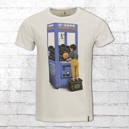Dirty Velvet T-Shirt Männer Hopes and Dreams weiss