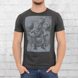 Dirty Velvet T-Shirt Männer Trophy Room anthrazit
