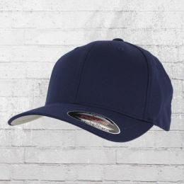 Flexfit Blanko Cap classic navy Mütze Kappe Schirmmütze dunkelblau