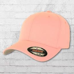Flexfit Blanko Cap Mütze Kappe zart rosa
