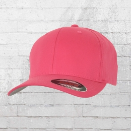 Flexfit Blanko Full Cap hot pink Mütze Kappe Schirmmütze