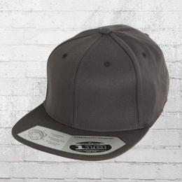 Flexfit 110 Fitted Snapback Cap dark grey 8da547dd60f5