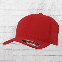 Flexfit Nadelstreifen Cap Pinstripe rot dunkelblau