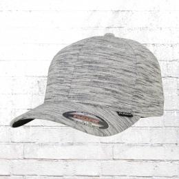 Flexfit Mütze Stripes Melange Cap grau schwarz