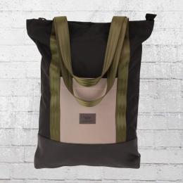 Freibeutler Rucksack Taschen Kombi Shopper Olive Strap