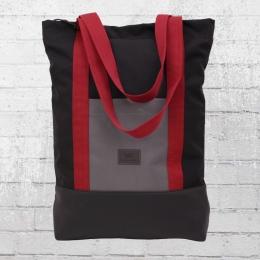Freibeutler Shopper Rucksack Taschen Kombi Red Strap